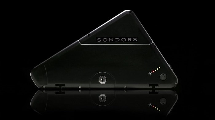 Sondors Thin with Panasonic single cell technology, which has been proved successful in the Tesla Model S (Sondors)