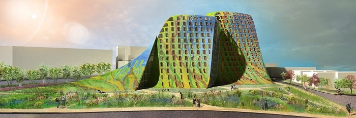 Ryde Civic centre draft - Green Building from Eureka - Australia