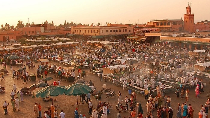 Marrakech - bike-sharing - medina - eco urban cycling