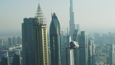 Manned Drone EHang 184 Soon Operating Above Dubai's Skyline